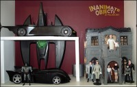 Wayne Manor and Batcave.