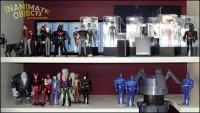 Batcave and villains.