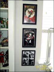 Comics and prints.