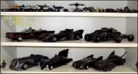 Batmobiles: 1/50th, 1/18th, and 1/24th-ish..