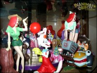 The Roger Rabbit shelf.