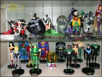 DCAU statues, and Teen Titans.