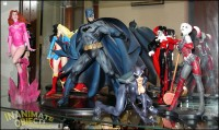 Some larger DC statues (plus Atom Eve.)