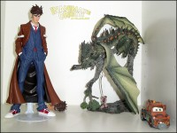 The Doctor and a Dragon. And Mater.
