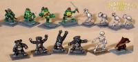Teenage Mutant Ninja Turtles. (Old school, babee!)