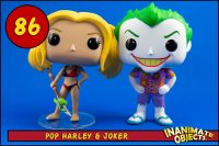 $20 Funko POP Harley Quinn & Joker Beach